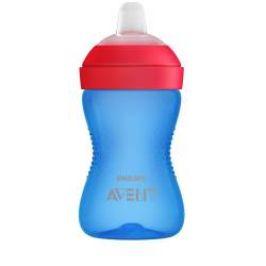 Avent Hrneček Grippy s jemnou hubičkou 300 ml 1 ks pro chlapce