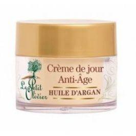 Le Petit Olivier Anti-Age denní krém s arganovým olejem 50 ml