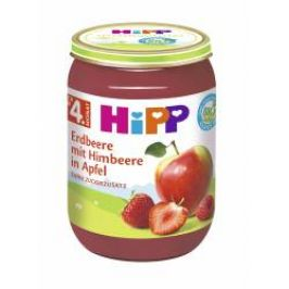 Hipp OVOCE BIO Jablka s jahodami a malinami 190 g