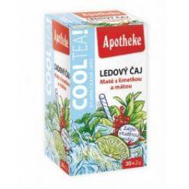 Apotheke CoolTea Maté s limetkou a mátou porcovaný čaj 20x2 g