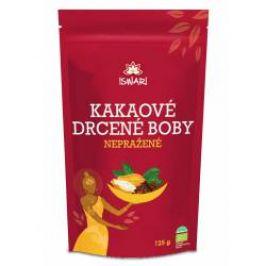 Iswari BIO Kakaové drcené boby nepražené 125 g