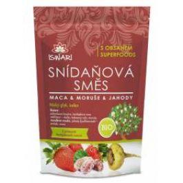 Iswari BIO Snídaňová směs maca-moruše-jahoda 300 g