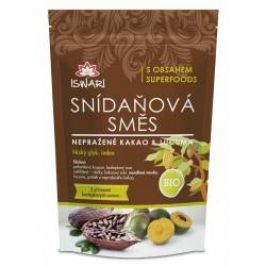 Iswari BIO Snídaňová směs nepražené kakao-lucuma 300 g