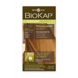BIOKAP Nutricolor Delicato+ 7.33 Blond Zlatá pšenice barva na vlasy 140 ml