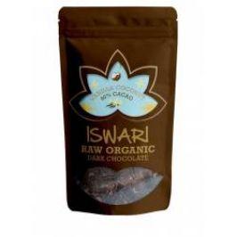 Iswari BIO RAW Čokoládové bonbóny vanilla 60% kakao 200 g