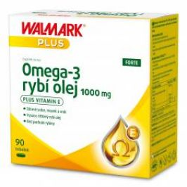 Walmark Omega-3 rybí olej FORTE 1000 mg 90 tobolek