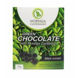 Moringa Čokoláda bílá s moringou a černým rybízem 70 g