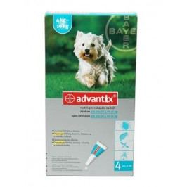Advantix Advantix pro psy   4-10 kg spot-on 4x1 ml