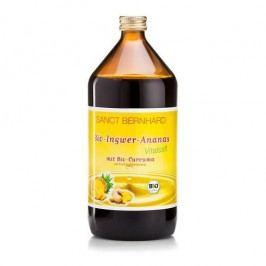 Sanct Bernhard  BIO Zázvorovo-ananasový sirup s kurkumou 1000 ml