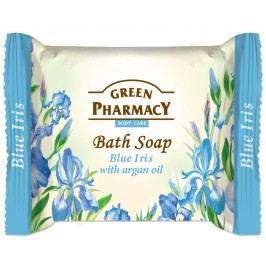 Green Pharmacy Modrý iris s arganovým olejem toaletní mýdlo 100 g