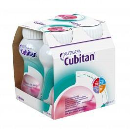 Cubitan s příchutí jahodovou 4x200ml