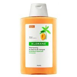 KLORANE Šampon s mangovým máslem na suché a poškozené vlasy 400 ml