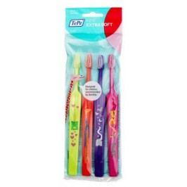 Tepe Zubní kartáček KIDS Extra-soft sáček 3+1 ks