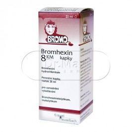 Bromhexin 8 KM kapky 20ml