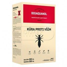 Bioaquanol Kúra proti vším šampon, balzám a hřeben 250+250 ml