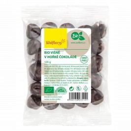 Wolfberry Višně v hořké čokoládě BIO 100 g