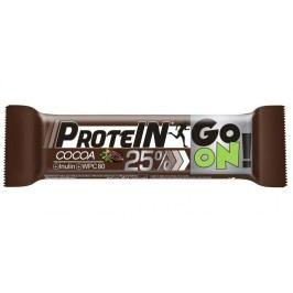 GO ON! Proteinová tyčinka s příchutí kakaa 50 g