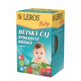 Leros Dětský čaj Spokojené bříško 20x2 g
