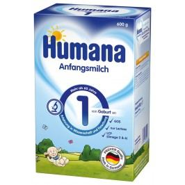 Humana 1 600g od narození