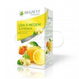 Megafyt Lípa s medem a citrónem ovocný čaj porcovaný 20x2 g