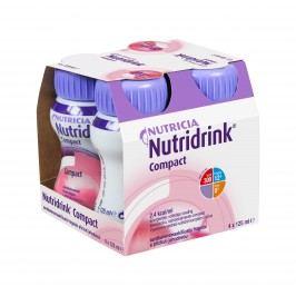 Nutridrink Compact jahoda 4x125 ml