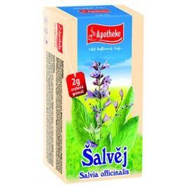 Apotheke Šalvěj lékařská čaj nálevové sáčky 20x 2 g