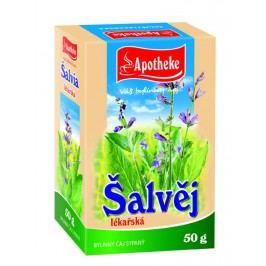 Apotheke Šalvěj lékařská - nať sypaný čaj 50 g