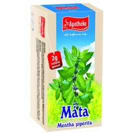 Apotheke Máta peprná čaj nálevové sáčky 20x 2 g