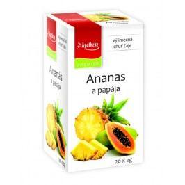 Apotheke Ananas a papája nálevové sáčky 20x 2 g