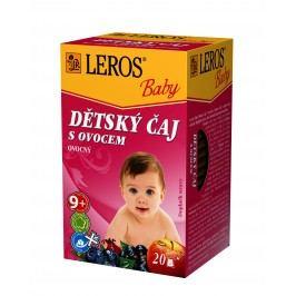 LEROS BABY Dětský čaj s ovocem n.s. 20x2g