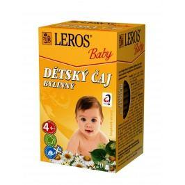 LEROS BABY Dětský čaj bylinný n.s. 20x1.8g