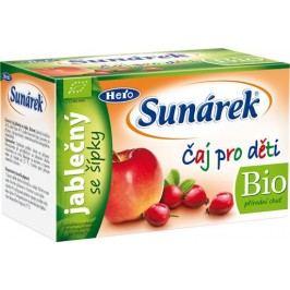Sunárek Čaj pro děti jablečný se šípky 20x1,5 g