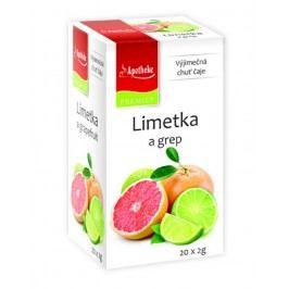 Apotheke Limetka a grep čaj nálevové sáčky 20x 2 g