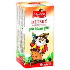 Apotheke Dětský čaj bylinný pro běžné pití nálevové sáčky 20x1,5 g