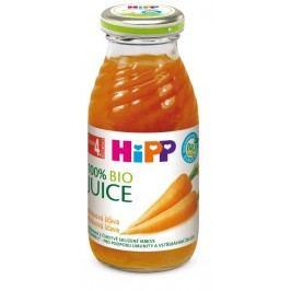 HIPP ŠŤÁVA BIO mrkvová 200ml