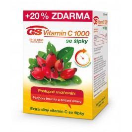 GS Vitamín C 1000 se šípky 100+20 tablet