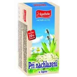 Apotheke Dýchací cesty a pocení porcovaný čaj 20x1,5 g