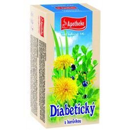 Apotheke Diabetický čaj nálevové sáčky 20x1,5 g