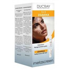 DUCRAY Melascreen Intenzivní depigmentační péče 30ml + Lehký krém SPF50+ 40ml