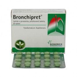 Bronchipret Tymián a prvosenka 20 tablet