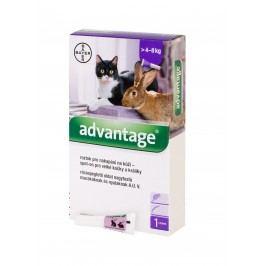 Advantage 80 mg roztok pro nakapání na kůži spot-on pro velké kočky a králíky 1 x 0,8 ml