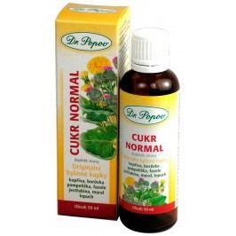 Dr. Popov Cukr normal bylinné kapky 50 ml