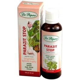 Dr. Popov Originální bylinné kapky Parazit stop 50 ml
