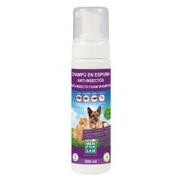 MenForSan Přírodní repelentní pěnový šampon pro psy a kočky 200ml