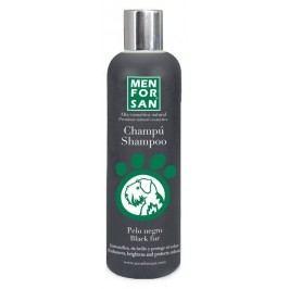 MenForSan Šampon pro psy zvýrazňující černou barvu 300ml