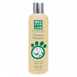 MenForSan Přírodní šampon pro psy s citlivou srstí s ovsem 300ml