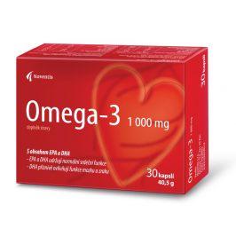 Noventis  Omega- 3 1000mg pro zdravé srdce a cévy 30 kapslí