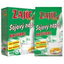 Sójový nápoj - Zajíc natural 400g-krabička