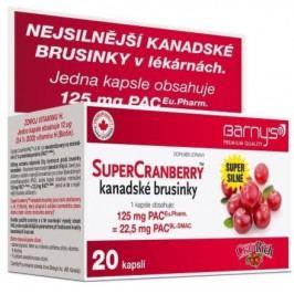 Barnys SuperCranberryTM kanadské brusinky cps.20