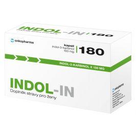 INDOL-IN (cysty HPV myomy bolest prsou) 180 kapslí